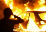 Три машины сгорели за сутки в Вологодской области