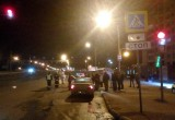 Череповчанку сбил мотоциклист: девушка получила серьезные травмы