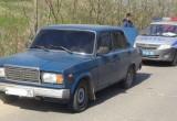 В Вологде полицейским пришлось стрелять по машине нарушителя