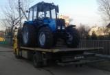 Украденный в Кировской области трактор нашелся в Череповце