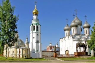 Колокольня Софийского собора Вологодского кремля