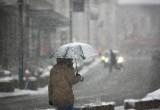 В эти выходные в Вологде и области ожидается снег с дождем