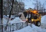 Коммунальщики Вологды вывезли с улиц более трех тысяч кубометров снега