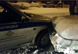 Череповчанин разбил две патрульные машины
