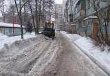 Коммунальные службы Вологды работают в усиленном режиме после снегопада