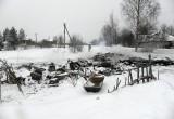 В пожаре, который произошел в Вологодском районе, погиб человек