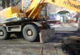 В Вологда на перекрестке улиц Герцена и Зосимовской образовалась пробка