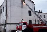В Вологодской области злоумышленники сожгли здание бывшей районной больницы