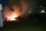 В Череповце жгут машины: одна уничтожена, еще две повреждены (ВИДЕО)