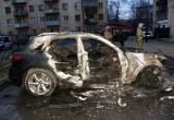В Вологде подожгли «Инфинити», оформленный на пенсионерку