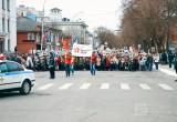 Митинг, торжественное шествие войск и вальс Победы прошли сегодня в Вологде (ФОТО)