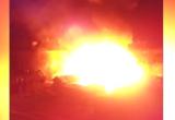 В Прилуках сегодня произошел серьезный пожар (ВИДЕО)