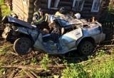 В Великоустюгском районе в дорожной аварии погибли два человека (ФОТО)