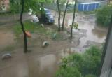 По колено в воде: вологжане негодуют из-за потопа и бездействия коммунальных служб (ФОТО, ВИДЕО)