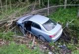 В Череповецком районе водитель уснул за рулем и вылетел в кювет