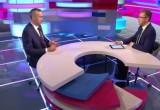 Мэр города Андрей Травников рассказал о юбилее Вологды в эфире «Большой страны на ОТР»