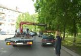 13 машин арестовали приставы во время рейда в Вологде
