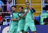 Сборная России проиграла Португалии, забил Криштиану Роналду