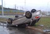 В Череповце перевернулась иномарка «Субару», травмирован водитель