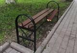 В Вологде вандалы надругались над скамейками и клумбами