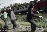 Череповецкие дети закидали камнями поезд