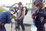 Массовая проверка велосипедов и велосипедистов прошла накануне в Вологде (ФОТО)