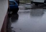 Вологжане жалуются в соцсетях на потопы после дождя (фото, видео)