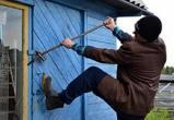В Вологодском районе судимый пенсионер обкрадывал дачи
