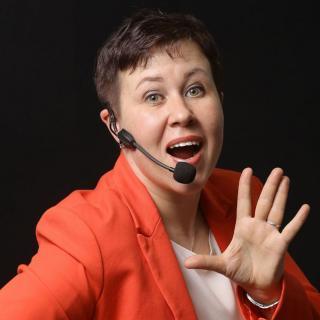 Татьяна Виноградова, ведущая