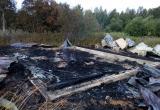 В Череповецком районе неизвестные подожгли строящийся дом