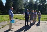 В селе Молочное скоро появится универсальная спортивная площадка
