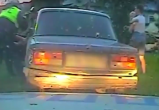 Полицейским пришлось гоняться за пьяным водителем, управлявшим машиной без лобового стекла (ВИДЕО)