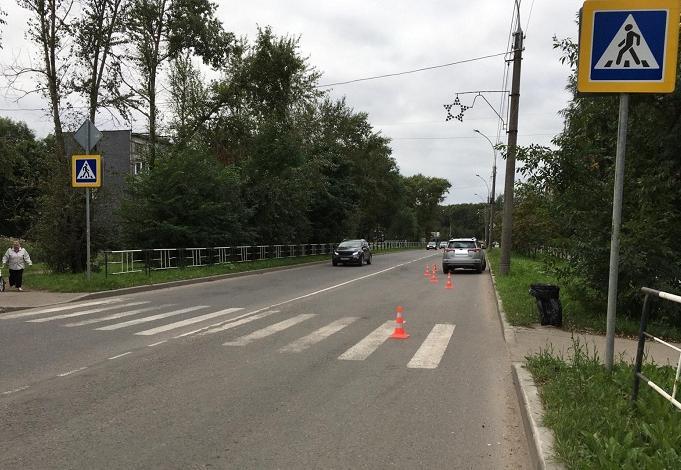 Двухлетнюю девочку сбили на «зебре» в Вологде