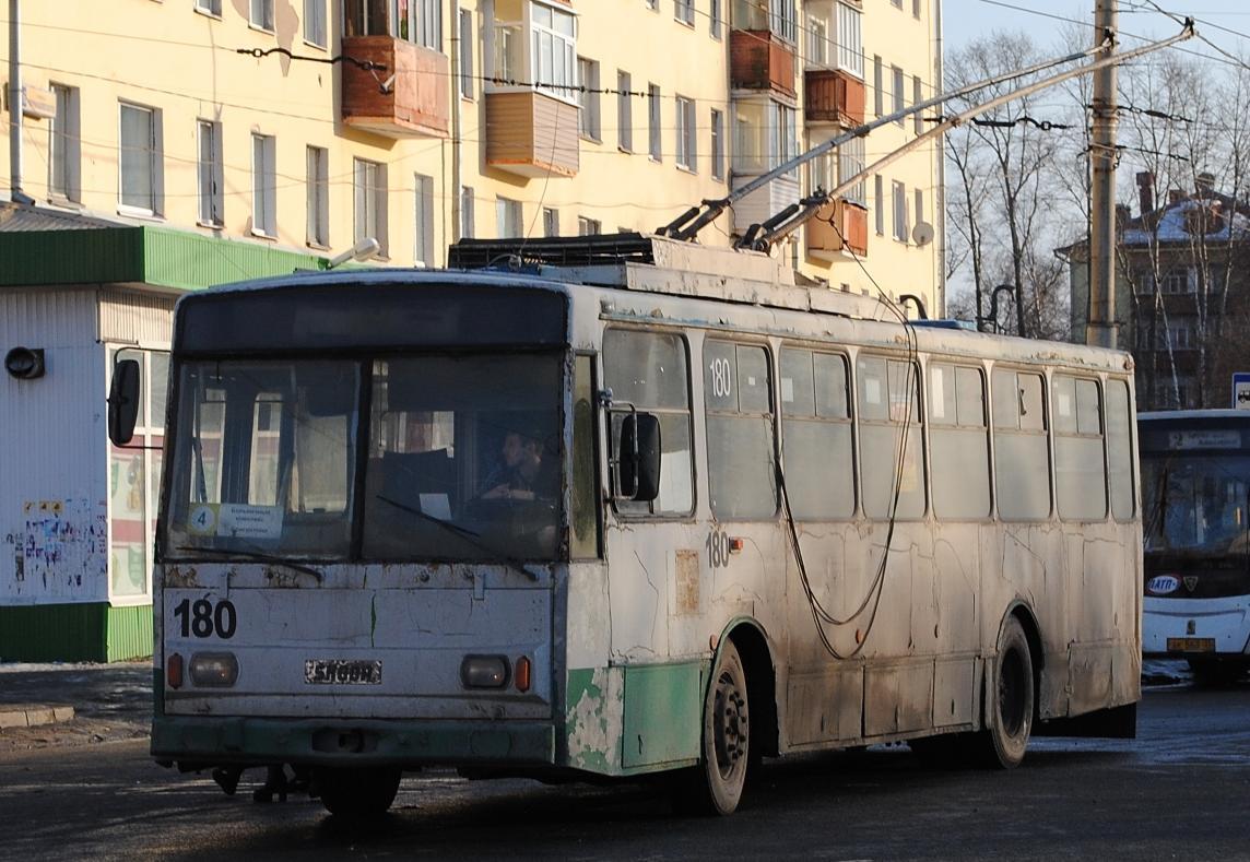 Автобусное предприятие ПАТП-1 приобрело 33 троллейбуса «Вологдаэлектротранса»
