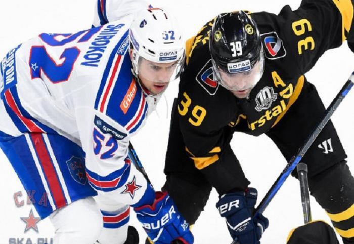 Хоккейная «Северсталь» была разгромлена дома питерским СКА