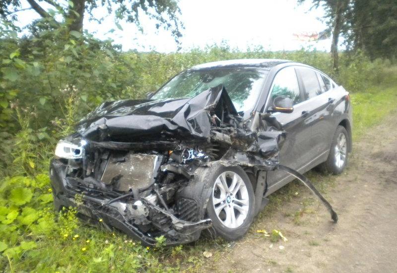 Авария на трассе в Вологодском районе: один человек госпитализирован (ФОТО)