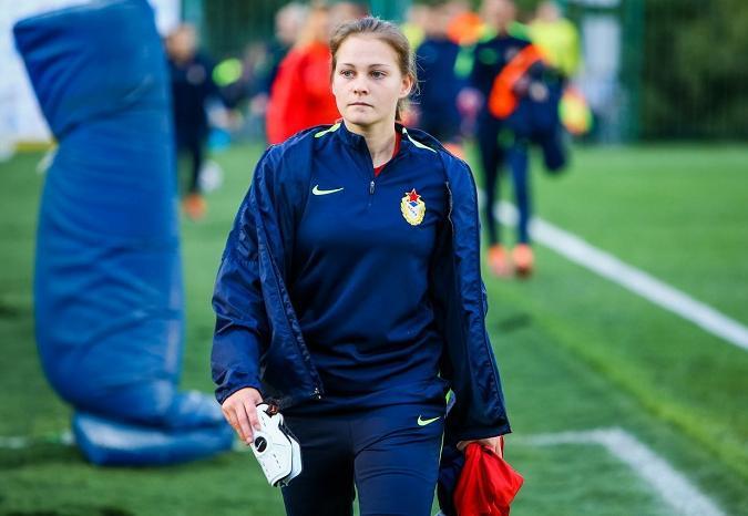 Череповчанка Ксения Шахова сыграет за женскую сборную России по футболу