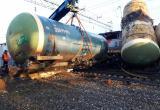 Завалы после столкновения поездов в Лосте постепенно разбираются (ФОТО, ВИДЕО)