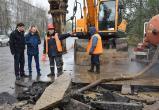 20 домов, школа и детсад остались без воды в Западном районе Вологды