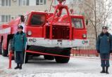 В Череповце открыли памятник пожарным