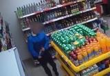 В Тарноге похитителя спиртного разоблачили по видеозаписи