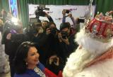Дед Мороз завернул к Надежде Бабкиной в Москве