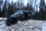 Водитель легковушки уснул на трассе и врезался в грузовик (ФОТО)