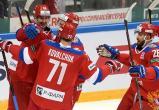 Сборная России победила Канаду на хоккейном Кубке Первого канала