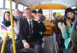 Школе Вологодского района подарили автобус