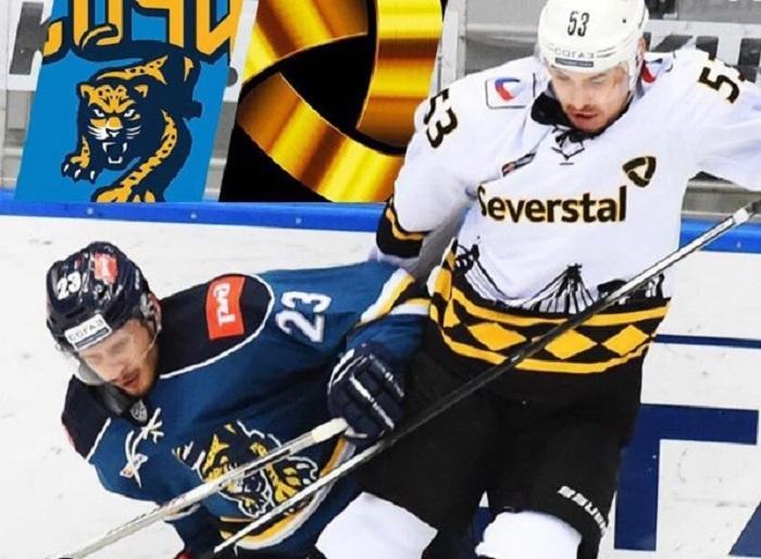 Хоккейная «Северсталь» начала год с разгромного поражения в Сочи