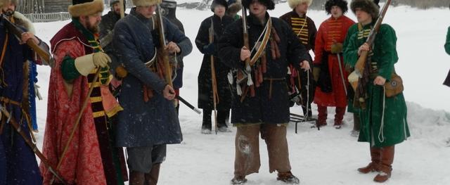 Средневековая деревня появилась сегодня в Вологде