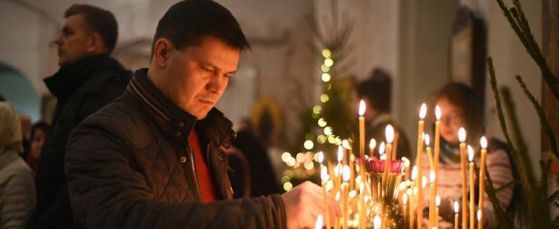 Поздравление Мэра Вологды с Рождеством Христовым