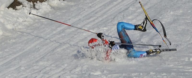 """Вологодский лыжник столкнулся с """"Бураном"""""""