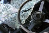 Уснувший  за рулем житель Череповца протаранил междугородный автобус